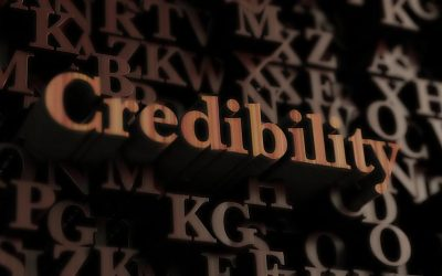 What are you doing to boost your credibility?